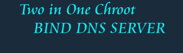 BIND Chroot DNS Master dan Slave Dalam Satu Server