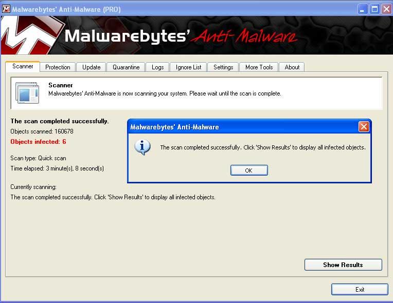 malwarebytes scan - menghilangkan virus malware